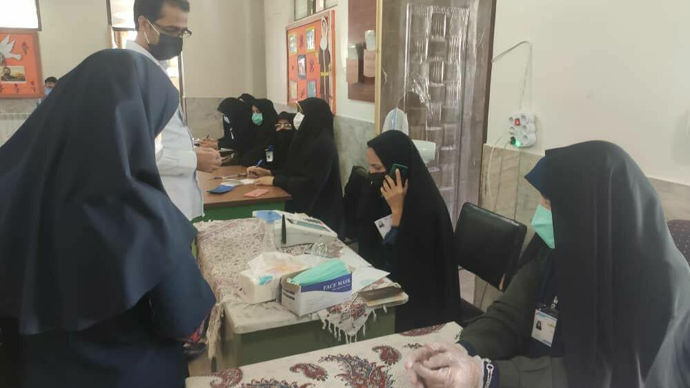 حماسه حضور مردم اردستان در انتخابات ۱۴۰۰