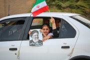 İran'da seçim zaferi coşkusu