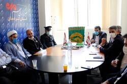 حضور کاروان بیرق رضوی در خبرگزاری مهر