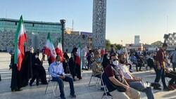 جشن پیروزی «رئیسی» با حضور جمع زیادی از مردم