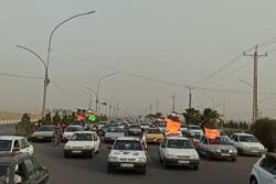 کاروان خودرویی شکرانه حضور پرشور و پیروزی مردم ایران در انتخابات