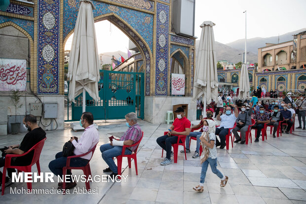 ساعات پایانی رای گیری در امامزاده صالح (ع)