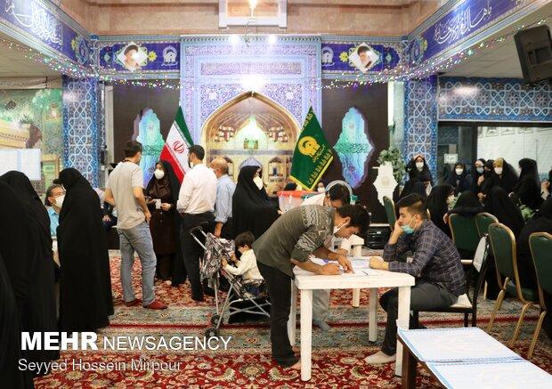 مشارکت ۵۵ درصدی مردم خراسان رضوی در انتخابات ۱۴۰۰