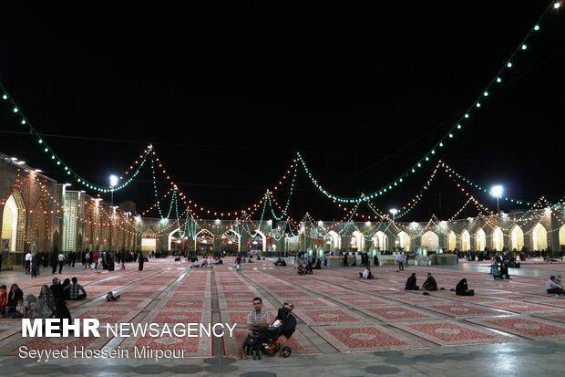 جشن انتخابات در مشهد -2