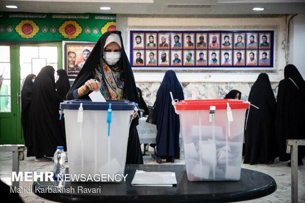جشن انتخابات -  بیت الزهرا کرمان