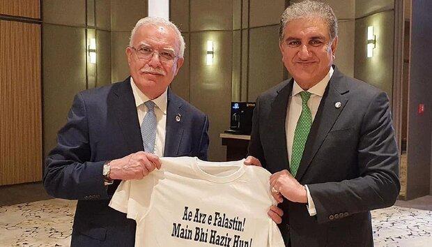 ترکی میں پاکستانی اور فلسطینی وزراء خارجہ کی ملاقات