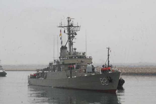 Iran 74th Naval Fleet docks at Chabahar after 3-month mission