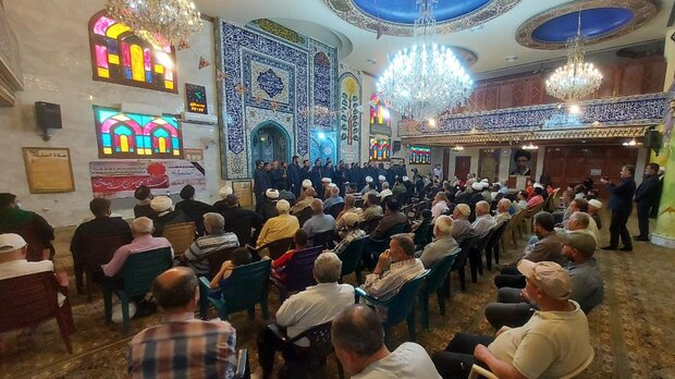 تولید ۱۵ اثر گروه همخوانی محمد رسول الله(ص) در سوریه