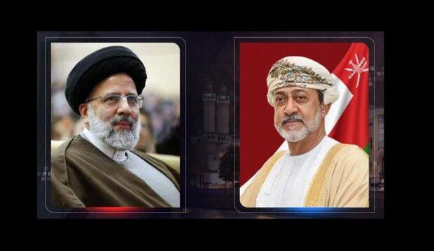 سلطان عُمان يهنئ السيد رئيسي بالفوز في الانتخابات