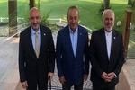 FMs of Iran, Turkey & Afghanistan start meeting in Antalya
