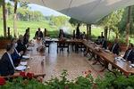 اجتماع ثلاثي بين وزراء خارجية ايران وتركيا وافغانستان في انطاليا