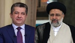 مسرور بارزاني لإبراهيم رئيسي: نتطلع لتعزيز علاقاتنا