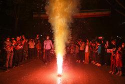 جشن پیروزی هواداران آیت الله سید ابراهیم رئیسی در بجنورد