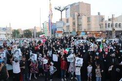 جشن پیروزی هواداران سید ابراهیم رئیسی در ورامین