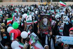 جشن پیروزی  سید ابراهیم رئیسی در بیرجند