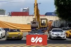 نحوه مبارزه دولت فیلیپین با ماشینهای لاکچریِ قاچاق