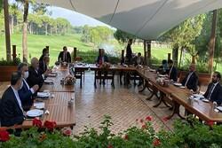 Zarif, Atmar, Cavusoglu stress joint coop. in Afghanistan