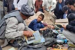 یادبود چهلمین روز شهادت کودکان مدرسه سیدالشهدای کابل+فیلم