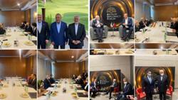 Zairf hails bilateral talks with world officials in Antalya