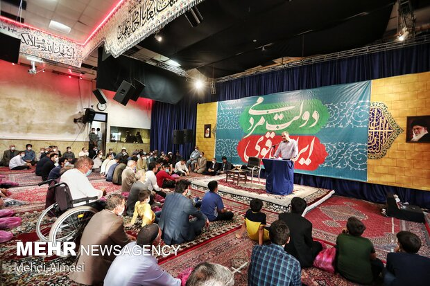مراسم شکرانه پیروزی ایت الله رئیسی در انتخابات ریاست جمهوری در زنجان
