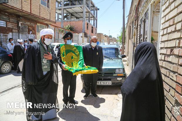 برگزاری جشن زیر سایه خورشید در رازو جرگلان