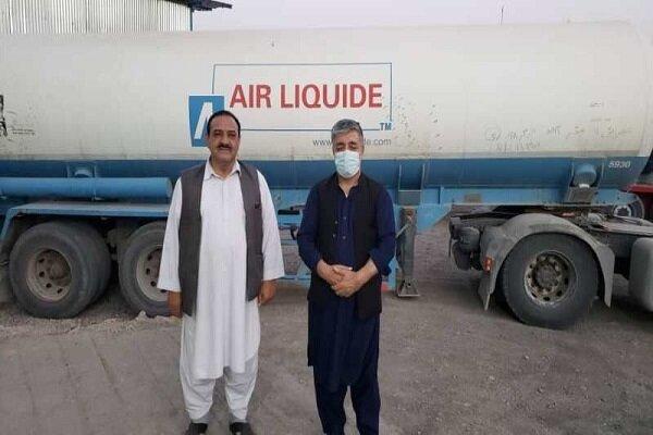 1st Iranian medical oxygen tanker arrives in Afghanistan