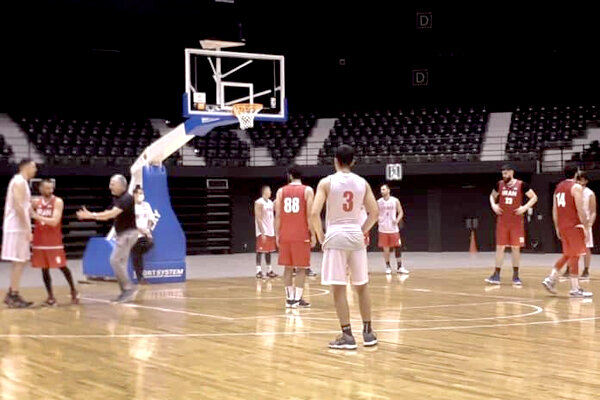 Iran national basketball team loses friendly match to Japan