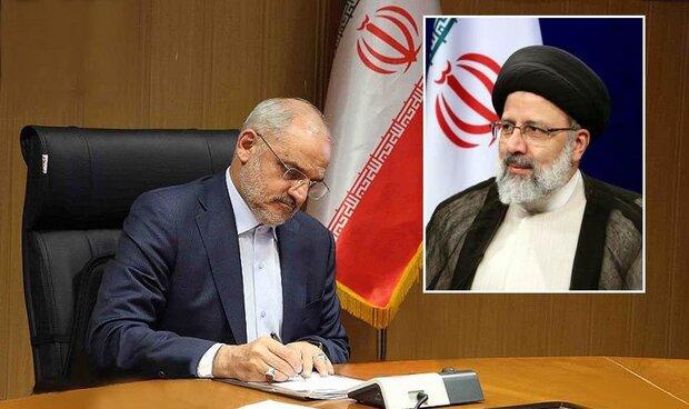 تبریک حاجی میرزایی به رئیسی برای پیروزی در انتخابات