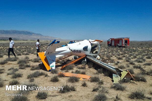 سقوط هواپیمای آموزشی در خراسان شمالی