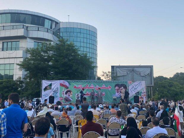 جشن شکرانه حضور در گرگان برگزار شد