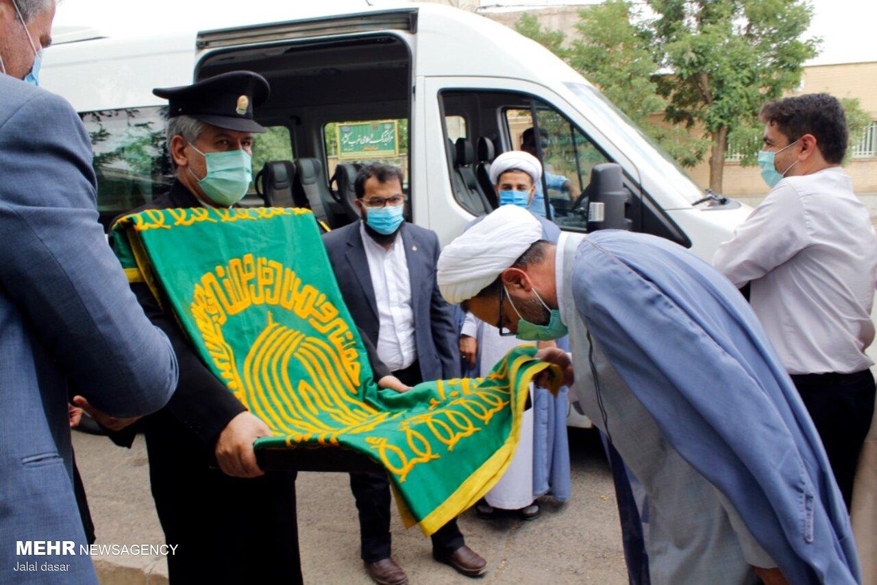 استقبال گرم از سفیران رضوی در سردترین نقطه خراسان شمالی