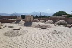 مرمت حمام خان ماهان آغاز شد