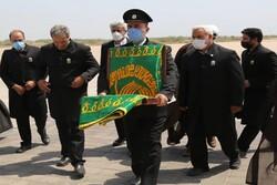 عطر حرم امام رضا (ع) با حضور خادمین در استان بوشهر حاکم شد