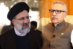 پاکستانی صدر عارف علوی کی نو منتخب ایرانی صدر آیت اللہ سید ابراہیم رئیسی کو مبارکباد
