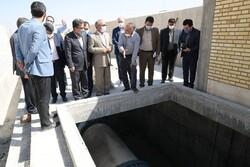استفاده از ظرفیت تصفیه خانه کرمانشاه به حل مشکل کم آبی کمک می کند