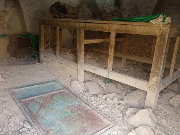 یکهتازی سارقان بنای امامزاده کمالالدین در سایه بی توجهی مسئولین