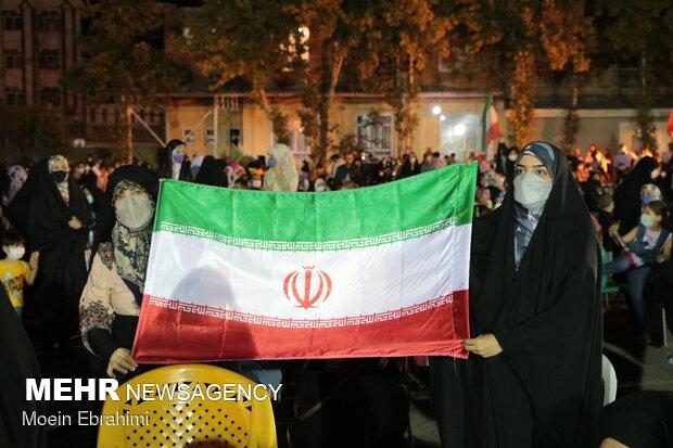جشن بزرگ پیروزی آیت الله رئیسی در کرمانشاه برگزار شد