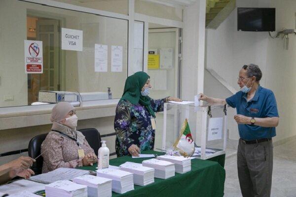 نتایج نهایی انتخابات پارلمانی زودهنگام در «الجزایر» اعلام شد