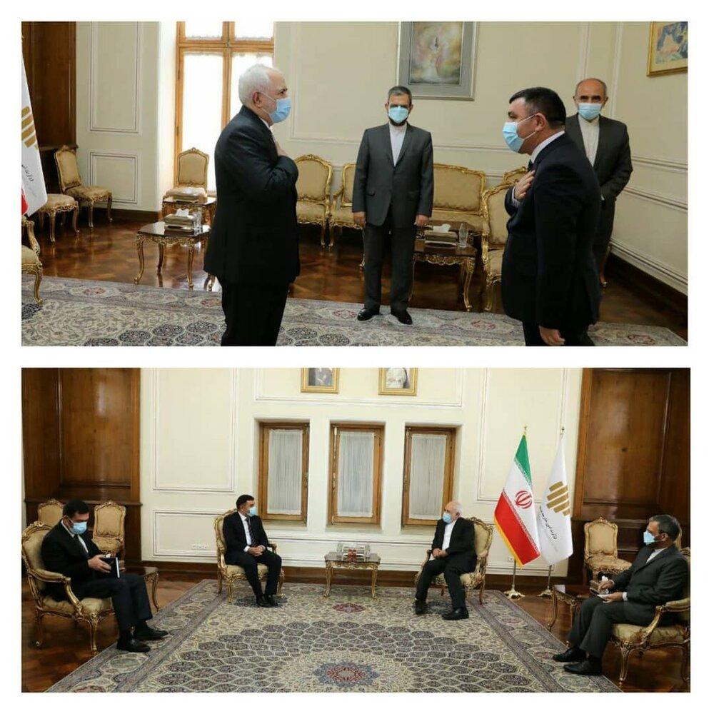 4 ongoing foreign envoys bid farewell to FM Zarif on Mon.