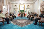 رئيس الاركان العامة الايرانية يلتقي الرئيس المنتخب