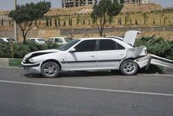 سوانح رانندگی در کرمانشاه ۲ کشته و ۳ زخمی به جای گذاشت