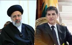 رئیس اقلیم کردستان عراق به سید ابراهیم رئیسی تبریک گفت