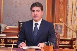 سفر رئیس اقلیم کردستان عراق به اردن