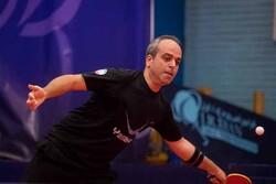 کاپیتان تیم ملی تنیس روی میز هم مسافر قطر شد