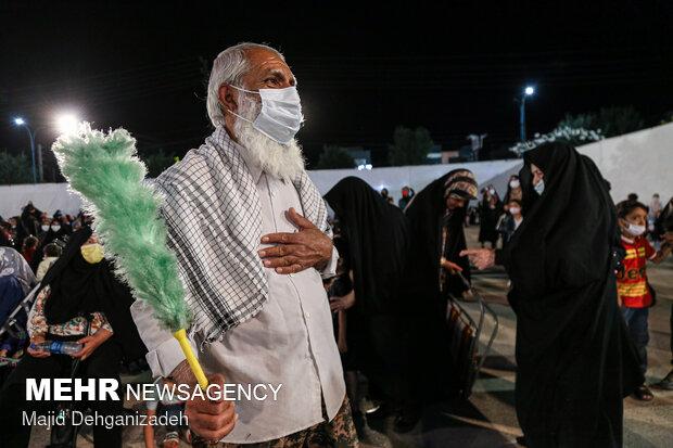 Celebrating Imam Reza birthday anniversary in Yazd