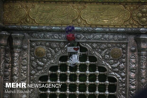أجواء الإحتفال بمولد الإمام الرضا(ع) من حرم السيدة المعصوة(س)