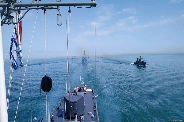 Azeri Navy starts tactical exercises in Caspian Sea
