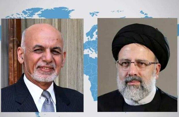 رئیسجمهور افغانستان با سید ابراهیم رئیسی گفتگو کرد