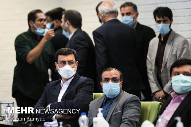 Ghalibaf's visit to Coronavirus vaccine factory