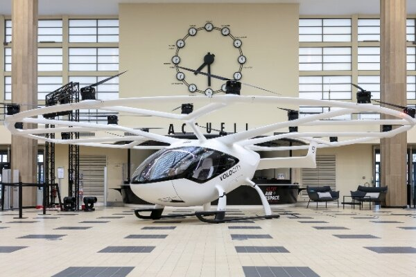 VIDEO: German air taxi to be operational for Paris Olympic